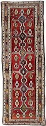 A Luri runner West Persia, 10 ft 4 in x 3 ft 8 in (314 x 110 cm)