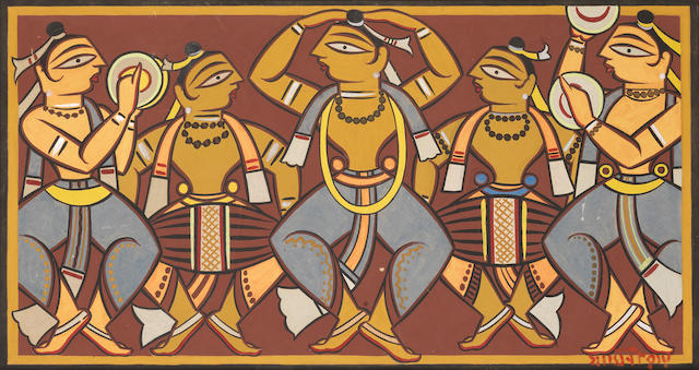 Jamini Roy (India, 1887-1972) Dancers,