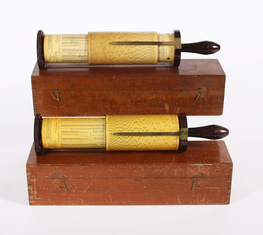 Two cylindrical Fuller Calculators 2
