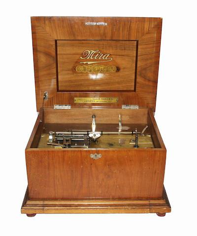 A Mira disc musical box by Mermod Freres 35