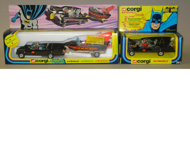 Corgi GS3 Batmobile and Batboat 2