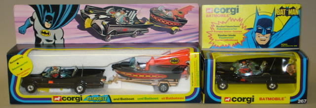 Corgi GS3 Batmobile and Batboat 2