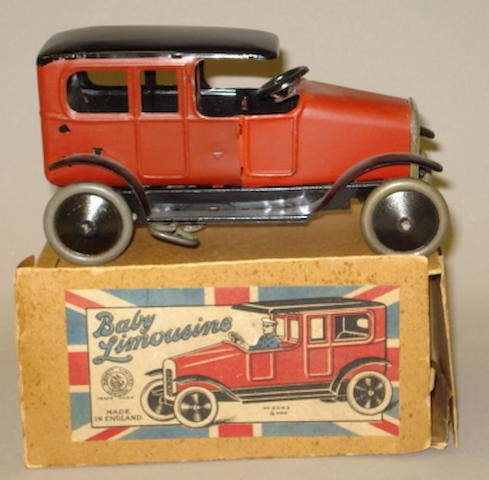 Burnett tinplate c/w Baby Limousine, 1920's