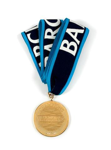Jose Mourinhio Barclays Premier League 2005-6 medal