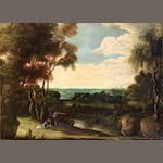Circle of Jacques d'Arthois (Brussels 1613-after 1686) An extensive landscape