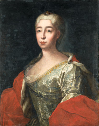 Circle of Francesco Solimena (Canale di Serino 1657-1747 Barra di Napoli) Portrait of a lady,