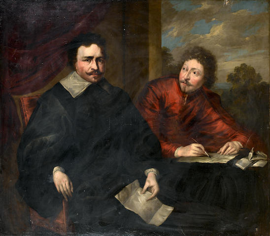 After Sir Anthony van Dyck, 18th Century Portrait of Thomas Wentworth, Earl of Strafford