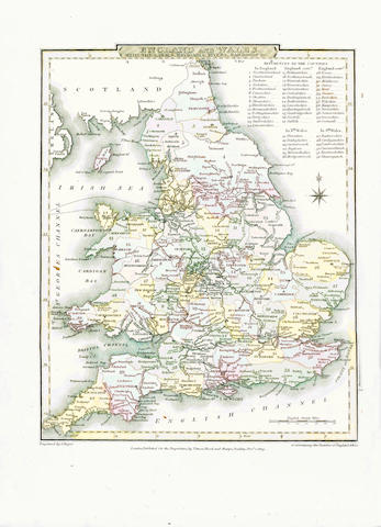 NIGHTINGALE (JOSEPH)] English Topography: Or, A Series of Historical and Statistical Descriptions of the Several Counties of England and Wales