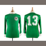 1974 World Cup Gerd Muller match worn West Germany shirt