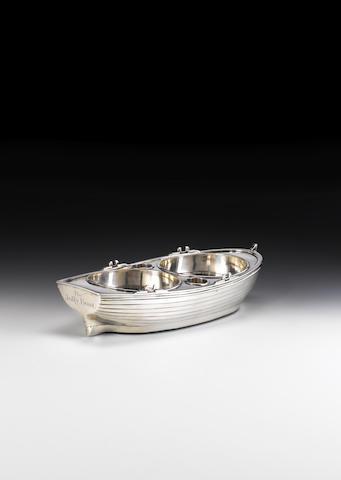 silver jollyboat london 1799 by john emes