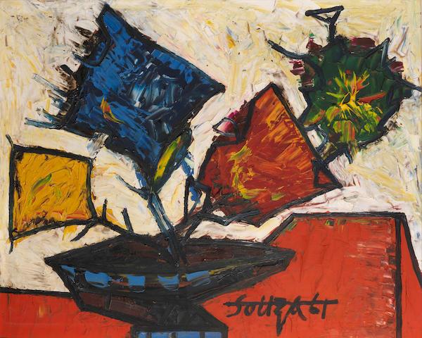 Francis Newton Souza (India, 1924-2002) Untitled,