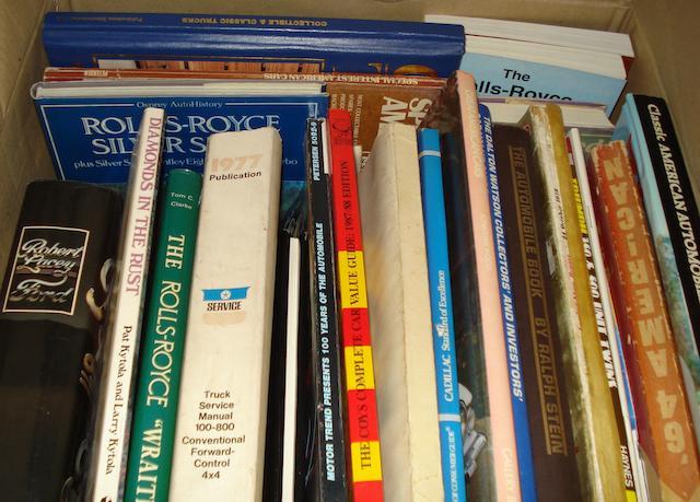 Twenty-eight motoring books and publications,