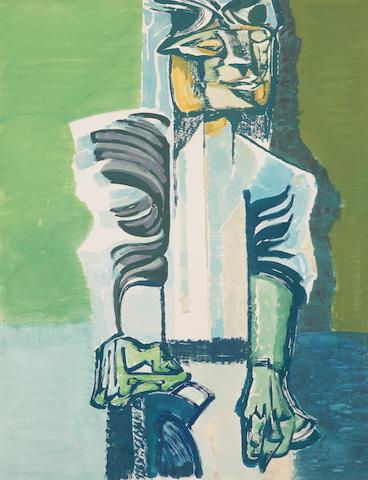 Robert Colquhoun (British, 1914-1962) Standing figure