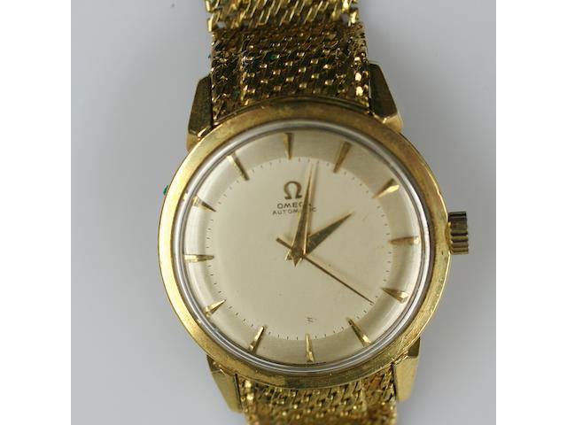 Omega: a gentleman's automatic wristwatch,