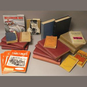 A quantity of assorted motoring books,