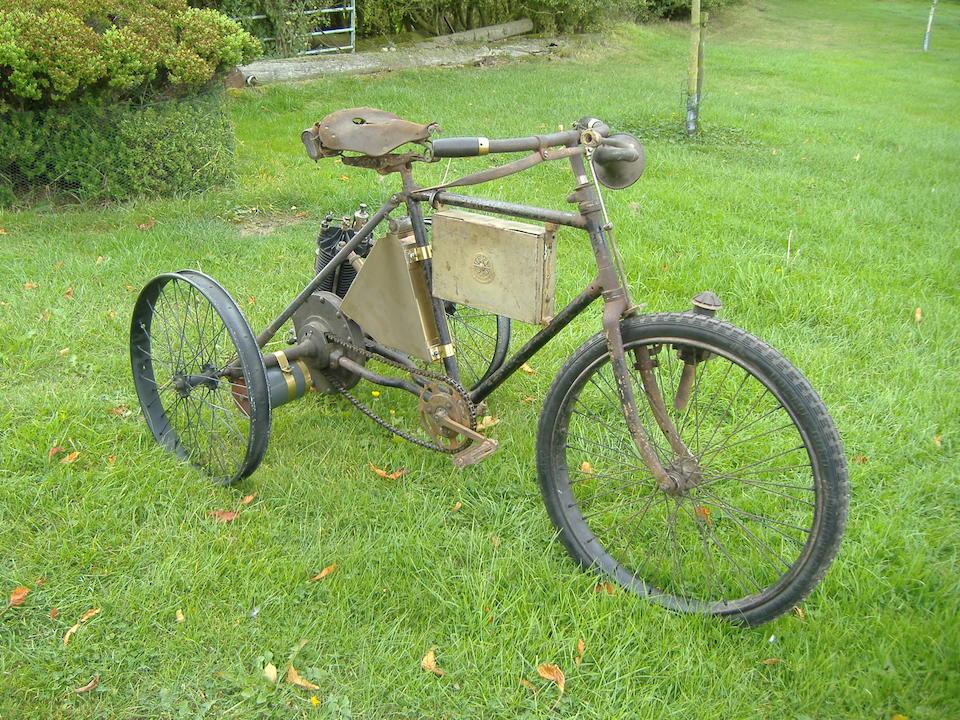 1900 Marot-Gardon 2 3/4hp De Dion-engined Tricycle  Engine no. 16352