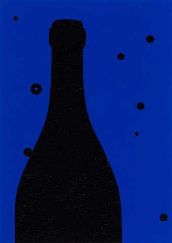 Patrick Caulfield (British, 1936-2005) 'Night Sky', 1973 (Cristea 30) from the portfolio '18 Small Prints',