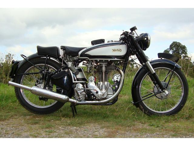 1952 Norton 490cc Model 30 International Frame no. 11 4705 Engine no. 4705 11
