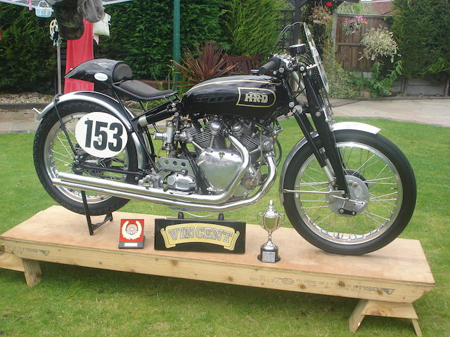1949 Vincent HRD Black Lightening,