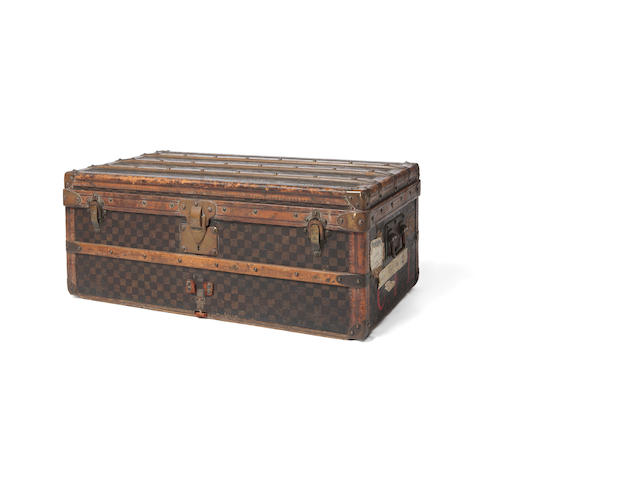 A 1920's Louis Vuitton traveling trunk