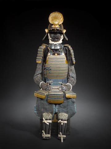A ni mai tachi do tosei gusoku Late Edo Period, 18th-19th century