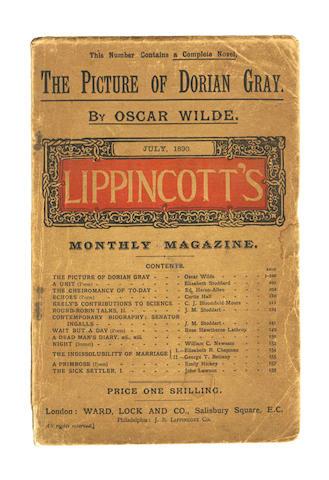 WILDE (OSCAR) The Picture of Dorian Gray [in Lippincott's Monthly Magazine]