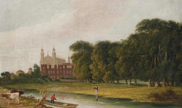 Attributed to Paul Gauci (British, born circa 1800-died circa 1855) Eton College