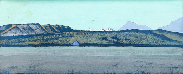 Nikolai Konstantinovich Roerich (Russian, 1874-1947), circa 1928 The path