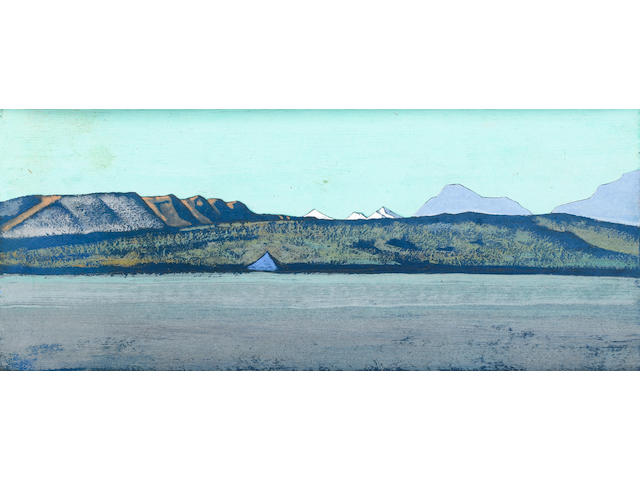 Nikolai Konstantinovich Roerich (Russian, 1874-1947), circa 1928 Path