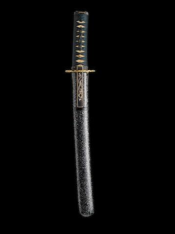 A shin-shinto tanto By Ohara Nagatoshi, dated Keio 2, 1866