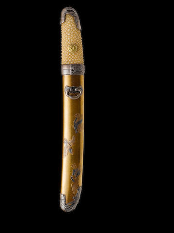 A small shin-shinto tanto Late Edo Period