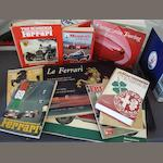 A lot of literature relating to Italian car marques,