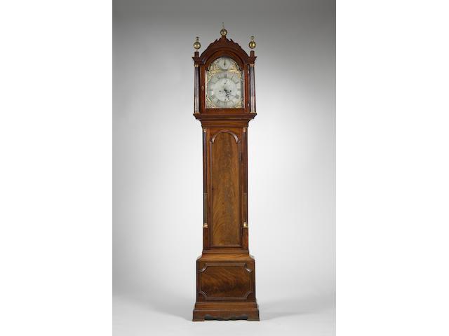 A George III mahogany longcase clock James Wild, London