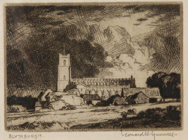 Leonard Russell Squirrell, R.W.S., R.I., R.E. (British, 1893-1979) 'Blythburgh'