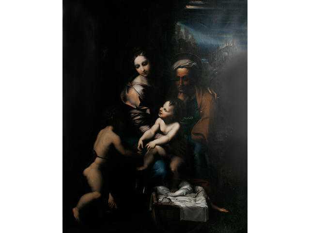After Raffaello Sanzio, called Raphael, 19th Century The Holy Family, or 'The Pearl'