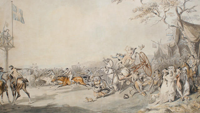 Robert Dighton the Elder (British, lived circa 1752-1814) At the races