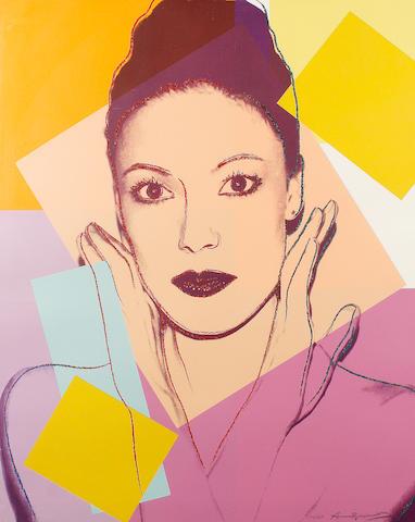 After Andy Warhol (American, 1928-1987) Karen Kain, 1980 (S)
