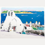 Paul Hogarth 'Mykonos'  (S)