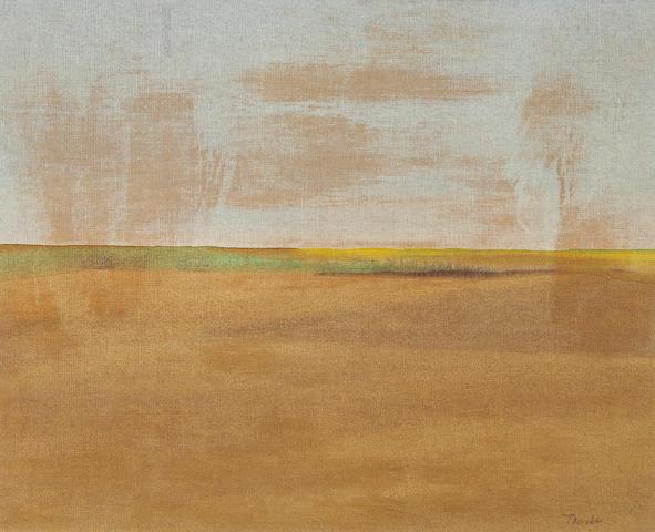 Takao Tanabe (Canadian, born 1926) Untitled: Landscape