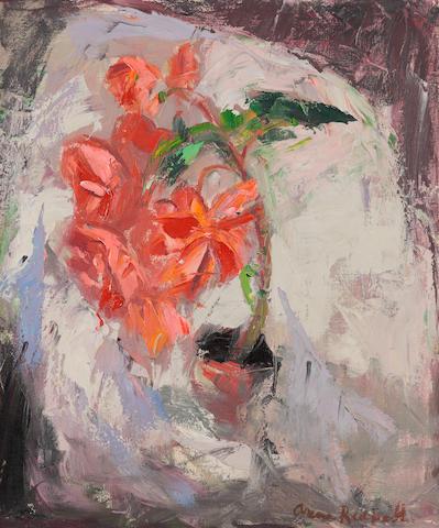 "Anne Redpath, OBE RSA ARA LLD ARWS ROI RBA (British, 1895-1965) ""Begonia"""