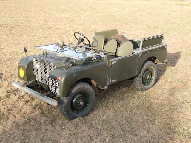 "1949 Land Rover Series One 80"","