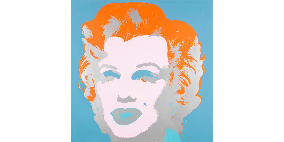 Andy Warhol (American, 1928-1987) Marilyn Monroe Screenprint, 1967, printed in colours, on wove, signed in pencil and numbered 184/250 with a rubber stamp verso, printed by Aetna Silkscreen Products, Inc. New York, published by Factory Editions, New York, 914 x 914mm (36 x 46in)(SH)