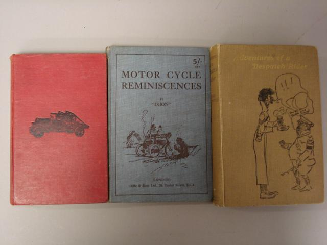 Three period motoring books,