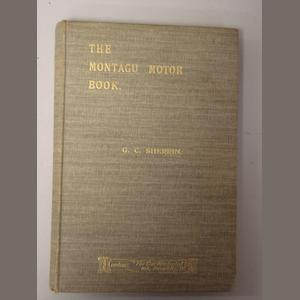 G.C.Sherrin: The Montagu Motor Book;