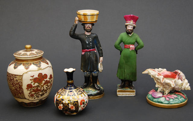 A collection of ceramics