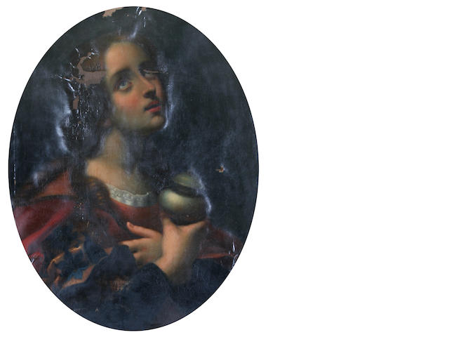 Louis Pisani, (Italian, 19th century) after Carlo Dolci 'The Magdalen',
