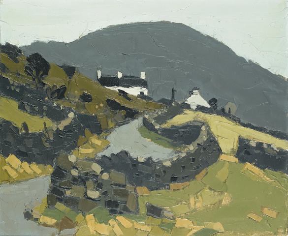 Sir Kyffin Williams, R.A. (British, 1918-2006) Near Waunfawr 51 x 60.8 cm. (20 x 24 in.)