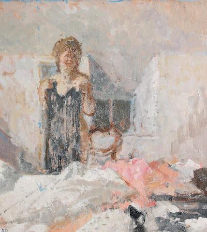 Bernard Dunstan, R.A. (British, born 1920) 'The transparent dress II'