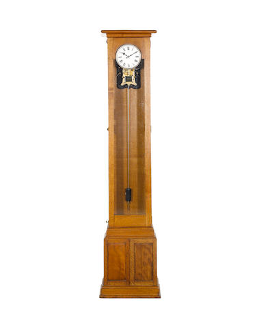 Early Synchronome oak master clock