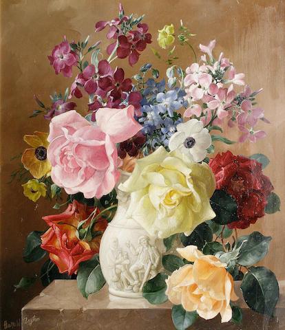 Harold Clayton (British, 1896-1979) 'White Vase'